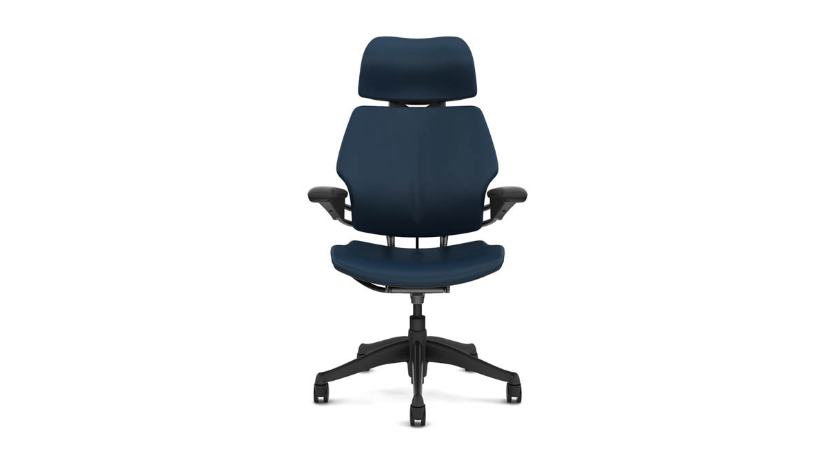 Recline is self-adjusting through a full range of motion