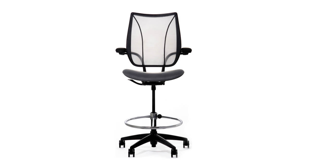 Features all of the adjustments and customized support of the Liberty Chair at drafting table height  sc 1 st  The Human Solution & Humanscale Liberty Drafting Chair | Shop Humanscale Drafting Stools islam-shia.org