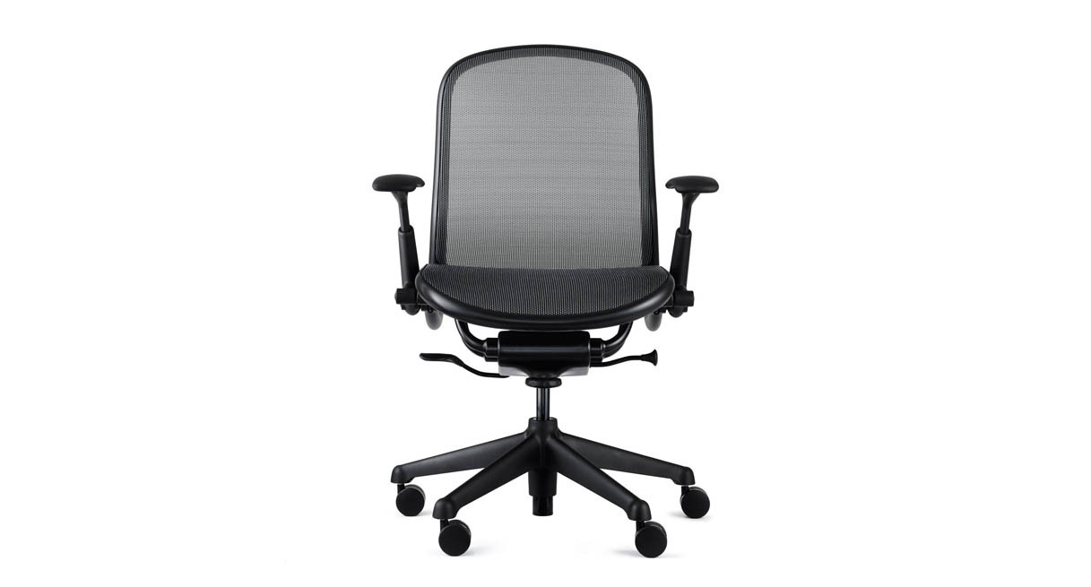 knoll chadwick chair  shop knoll office chairs - variable seat depth automatically adjusts to fit users of different sizes
