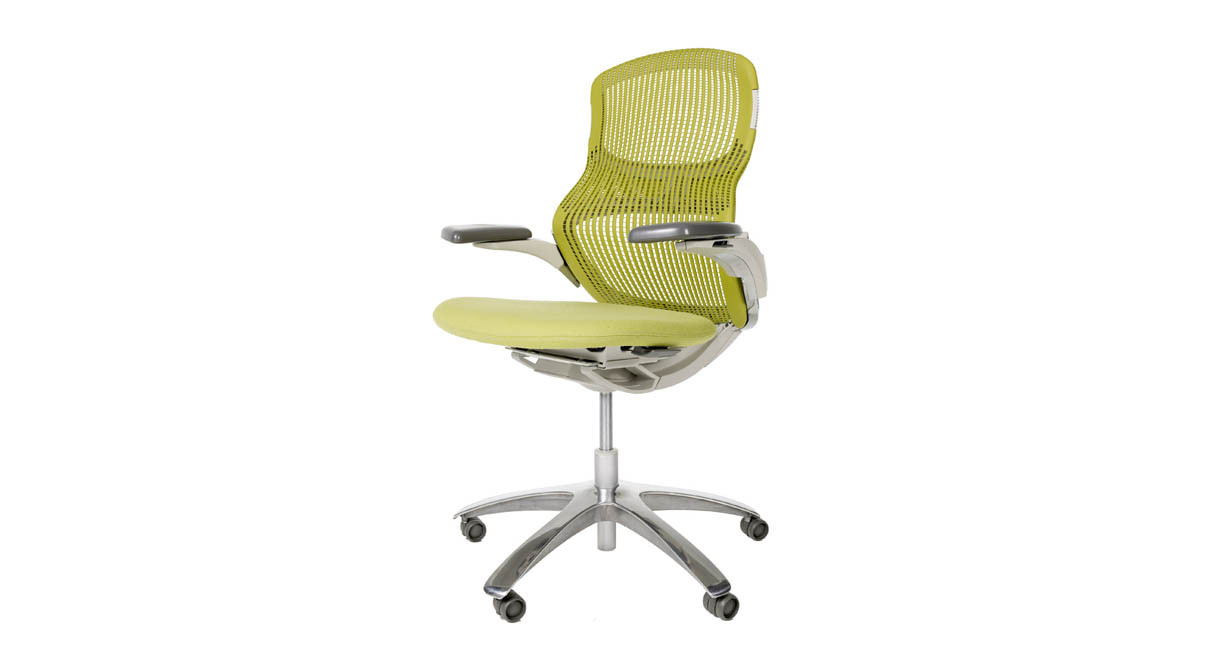 knoll generation chair  shop knoll office chairs - flex back top and figure  structure allow multidimensional movement