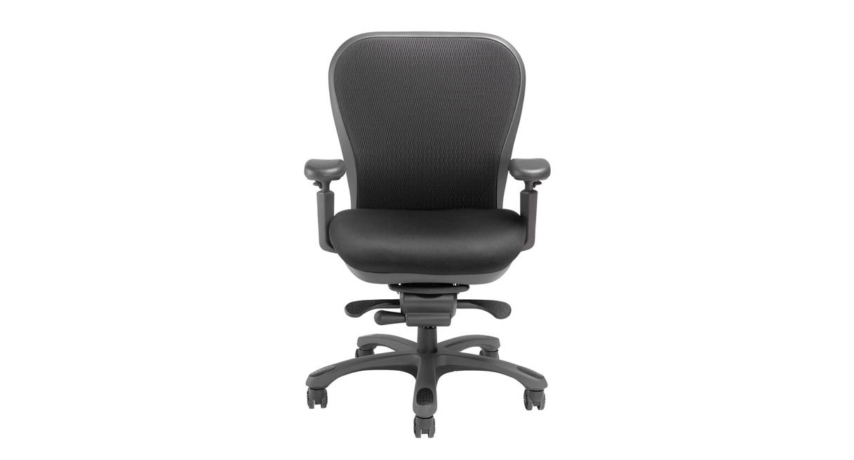 nightingale chairs cxo. contoured mesh back comes in black or gray finish nightingale chairs cxo b