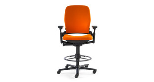 steelcase leap drafting stool - Drafting Chairs