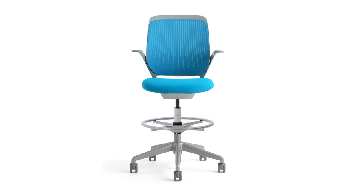 Back flexes to support your body in any position  sc 1 st  The Human Solution & Steelcase Cobi Drafting Stool - Shop Steelcase Cobi Drafting Stools islam-shia.org