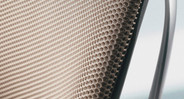 Back foam and progressive back slat system keep you cool and comfortable at work
