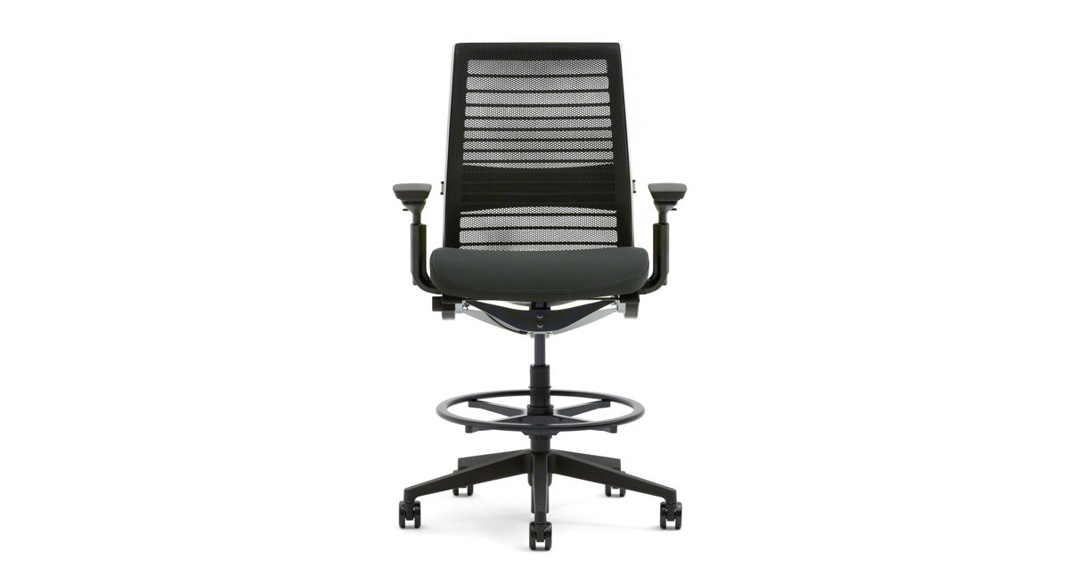 steelcase think office chair. the think drafting stoolu0027s 15 uniquelyshaped linked flexors automatically adjust to your body steelcase office chair