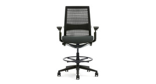 Steelcase Think Drafting Stool with 3D Knit Back  sc 1 st  The Human Solution & Ergonomic Drafting Chairs and Stools | Shop Drafting Chairs and Stools islam-shia.org