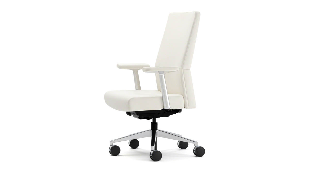 Steelcase gesture chair front - Flexible Front Seat Edge Relieves Pressure On Your Legs Especially When Reclining