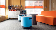 Great for an impromptu meeting, a quick brainstorm, or a break from the norm
