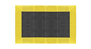 "7/8"" thick, PVC based mat is extremely durable"