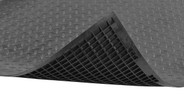Ribbed underside for improved anti-fatigue relief and to keep moisture away