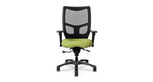 Mild saddle-contoured seat
