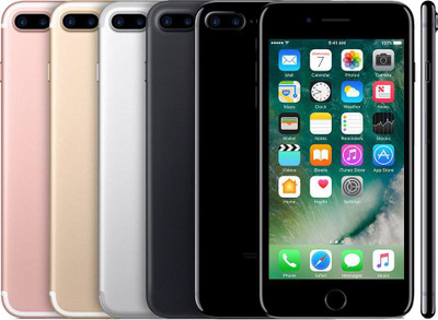 Apple iPhone 7 Plus On Sale Unlocked for all carriers now available. Limited quantity in stock call or walk in for pricing. (214) 223-2304! Apple iPhone 7 Plus Carrier: Verizon Unlocked Example: Verizon, AT&T, T-Mobile, Metro-Pcs, Cricket Wireless, Simple Mobile, Unlocked for international use as well. Condition: (A) Mint Colors available: Silver, Gold, Rose Gold, Matte Black, & Jet Black. Capacity: 32GB, 128GB and 256GB.