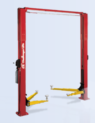 New 2 Post Challenger Lift 10,000 lb E10 10K Hoist Import E-10