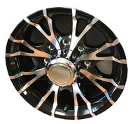 "New 16"" Aluminum Trailer Wheel 16x6 8x6.5 8 Bolt Sendel T07 8 Spoke"