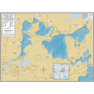Eagle River Chain (Northern Lakes) - includes Yellow Birch, Duck, Lynx, Otter, Scattering Rice & Voyager lakes