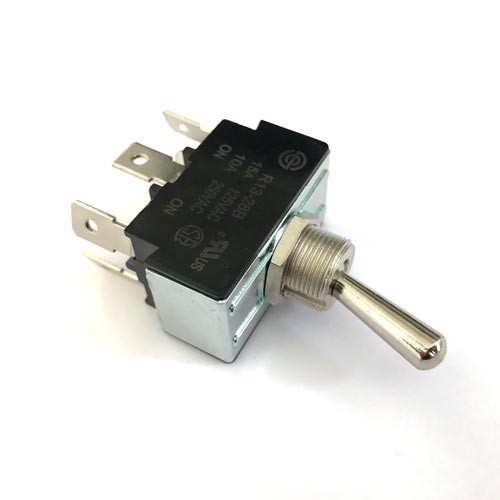 Lever Switch ON-ON DPDT 10A 250V Hole OD12mm