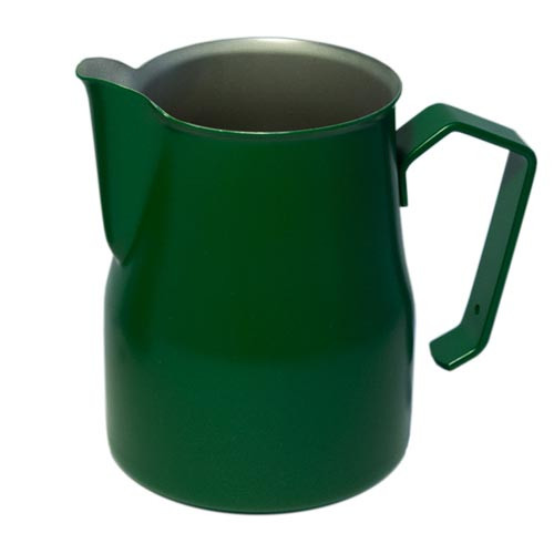 Motta Europa 750ml Milk Steaming Jug / Pitcher Green