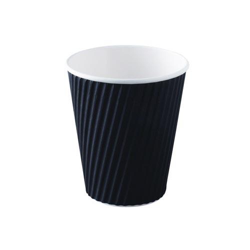 Takeaway Coffee Cup - Paper Ripple 8oz 240ml - 25x