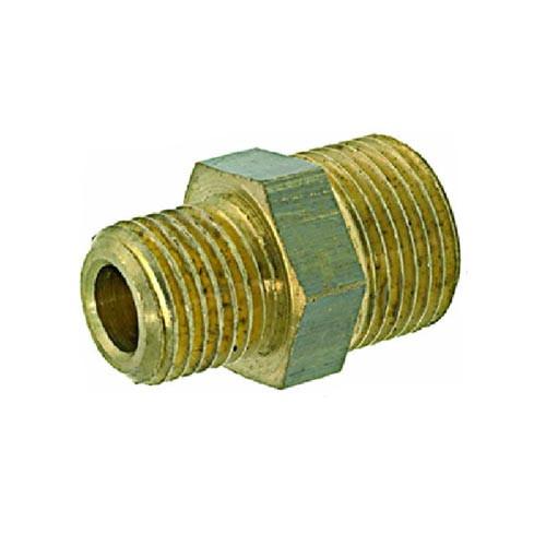 Fitting 1/4M - 1/8M Brass/Nickel