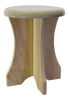 Portable poplar stool