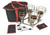 Sauna Fix® Ultimate Bundle UK 240V Near Infrared Sauna lamp, hanging rope ratchets, Stay Safe near infrared protection glasses and travel/storage bag and pouches.