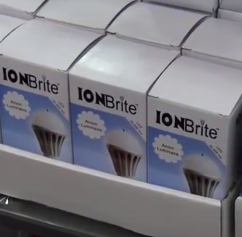 ION Brite Anion LED 6-pack of 7 watt cool light bulbs at Go Healthy Next