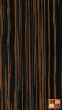 Ebony - V-Tec Veneer - Brown Quartered