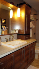 Premium Rift Walnut Bathroom