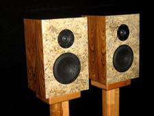 South American Rosewood Veneer Speakers