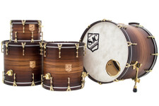 Zebrawood Veneer Drum Set