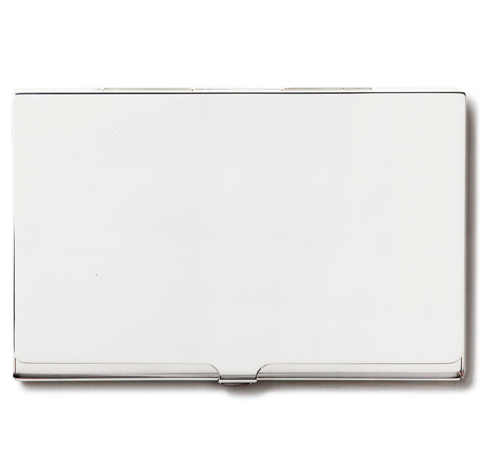 Business Card Case in Sterling Silver | SIR JACK\'S