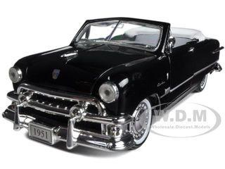 1951 Ford Custom Convertible Black 1/32 Diecast Car Model Arko Products 05121