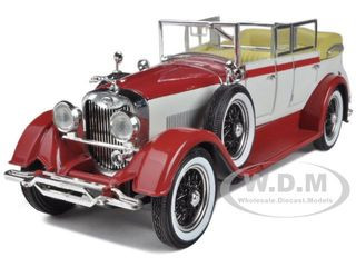 1928 Lincoln Dietrich Limousine Red 1/32 Diecast Car Model Arko Products 22821