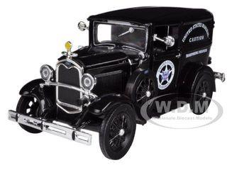 1931 Ford Model A US Marshall's Van 1/32 Diecast Model Car New Ray 55123