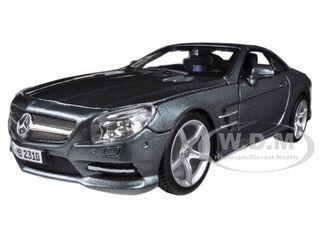 Mercedes SL 500 Coupe Grey 1/24 Diecast Car Model Bburago 21067
