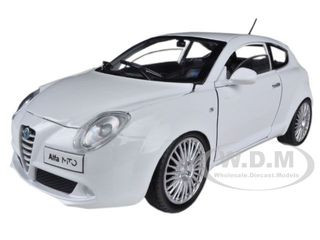 ALFA ROMEO MITO RED 1//24 DIECAST MODEL CAR BY MOTORMAX 73371