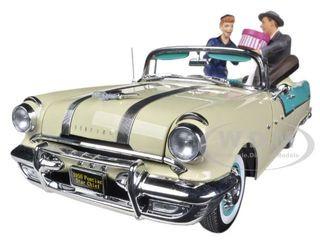 1955 Pontiac Star Chief I Love Lucy On The Road Again 1/18 Diecast Car Model Sunstar 5057