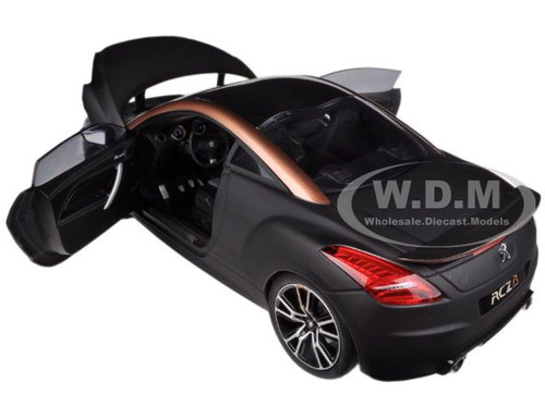 ebay home interior 2012 peugeot rcz r black gold 1 18 diecast car model by 11534