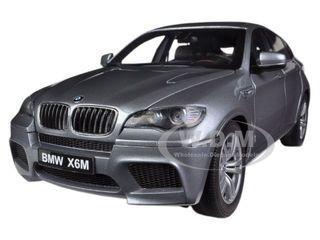 Bmw X6 M Space Grey 1 18 Diecast Car Model By Kyosho