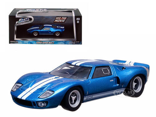 Vinces  Ford Gt  Mk I Blue The Fast And The Furious Fast Five Movie