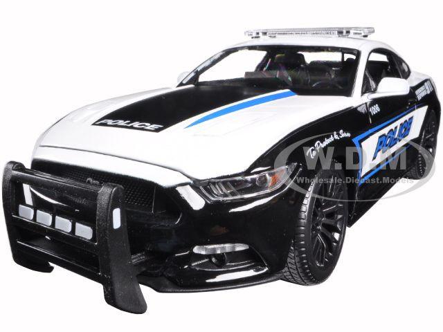 2015 ford mustang gt 5 0 police 1 18 diecast model car maisto 36203. Black Bedroom Furniture Sets. Home Design Ideas