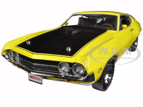 Ford Torino Cobra  Cj Hemmings Bright Yellow Limited Edition Pc  Cast