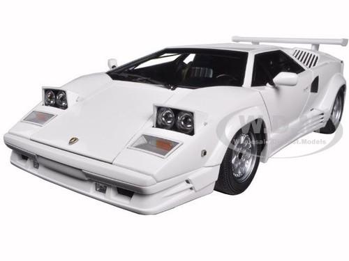 Lamborghini Countach 25th Anniversary Edition White 1 18