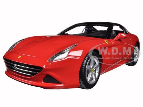 Ferrari California T bleu 1:18 Diecast Voiture Modèle Par Bburago 16003 fermé en haut
