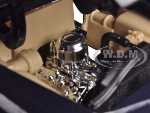 MOTOR MAX 1:24 1949 FORD WOODY WAGON DIE-CAST BLUE 73260