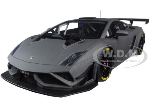 Lamborghini Gallardo GT3 FL2 2013 matt grau 1:18 Autoart