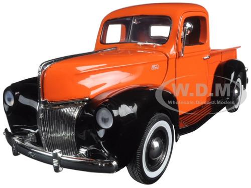 "1940 ford pickup 1940 ford pickup truck orange ""timeless classics"" 1"