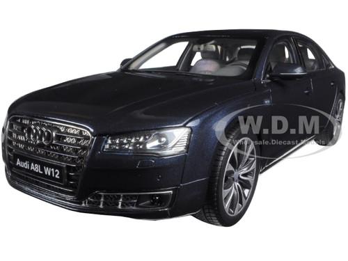 Lovely 2014 Audi A8 L W12 Moon Shine Blue 1/18 Diecast Model Car Kyosho 09232 MSB Home Design Ideas