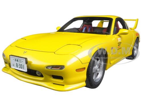 Mazda Efini Rx 7 Fd3s New Animation Film Initial D 1 18 Diecast