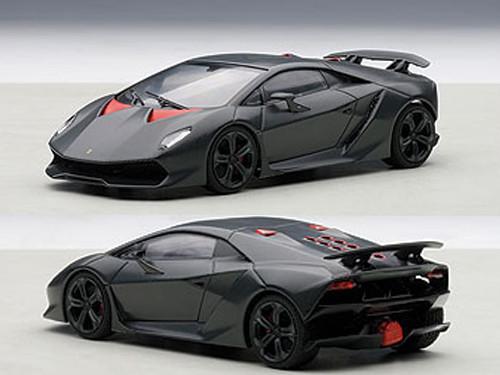Lamborghini Sesto Elemento 1 43 Diecast Model Car Autoart